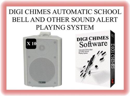 TC114 - Sistema automático de Sonido de Timbre Escolar preprogramado