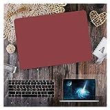 GYY para MacBook Air 11 12 13.3'Cubierta Clara De Cristal para MacBook Air Pro 13 15 16 Touch Barra/Touch ID A2289 A2338 M1 A2159 (Color : Matte Wine Red, Size : Air 11 A1465 A1370)