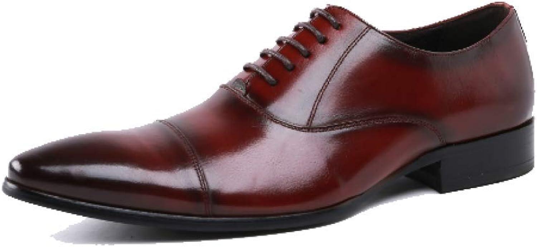 Herren Lederschuhe Mode Business Tgliche Arbeit Hochzeit Schuhe Deodorant Verschleifeste Breathable