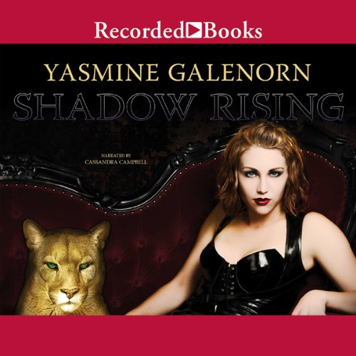 Shadow Rising audiobook cover art