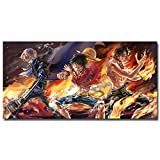 USWay 136202 One Piece Strong World Anime Luffy Decor Wall 36x24 Poster Print