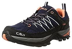 CMP – F.lli Campagnolo Damen Rigel Low Wmn Shoe Wp Trekking-& Wanderhalbschuhe, Blau (B.Blue-Giada-Peach 92ad), 39 EU