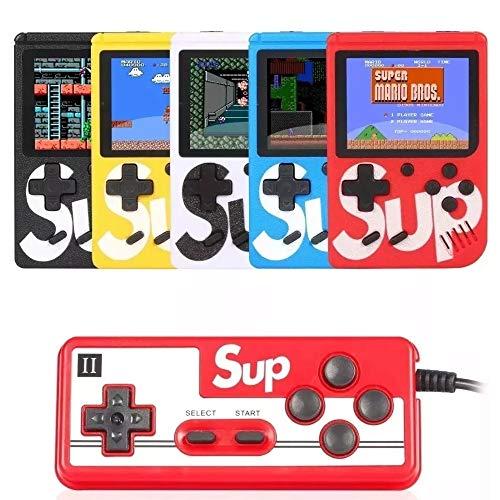 Mini Game Portátil Sup Game 2 Player Box Plus 400 Jogos Na Memoria + Controle