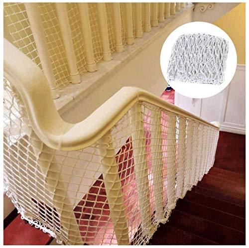 STTHOME Child Safety Net Protection Climbing Frames Children's Stair Safety Net, Balcony Protection Net, Fall Prevention Net, Fence Net, Plant Climbing Net, Railway Net, Car Net, Cargo Net, 2x5m