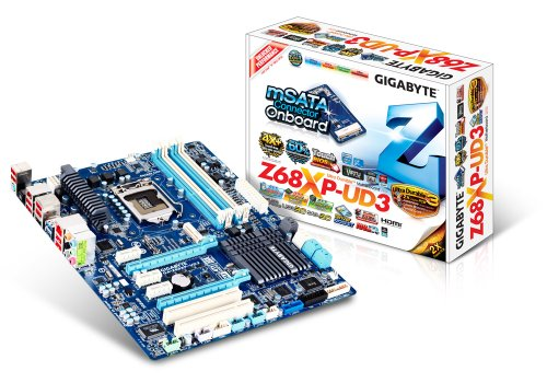 GigaByte GA-Z68XP-UD3 Mainboard Sockel 1155 (ATX Intel Z68, 4X DDR3 Speicher, 4X USB 3.0)