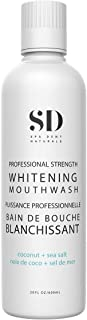 Spa-Dent Natural Mouthwash - Whitening Action – Alcohol Free Dental Office Technology – Made in Canada with Advanced Denta...