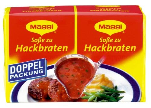 Maggi Delikatess Doppelpack Soße zu Hackbraten, 18er Pack (18 x 500 ml Karton)