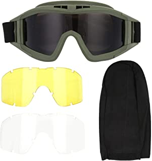 Airsoft Glasses Anti Fog Safety CS Military Paintball Protection Shooting Goggle