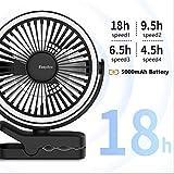 Zoom IMG-1 easyacc ventilatore da campeggio 5000mah