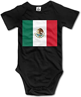 Flag of Mexico Funny Baby Onesies Infant Clothes Boys Girls Bodysuit Jumpsuit Rompers Baby Outfits