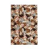 Rompecabezas para adultos y niños Golden Girls 1000 piezas de madera Puzzle Set 29,5 x 50,3 cm, versión vertical