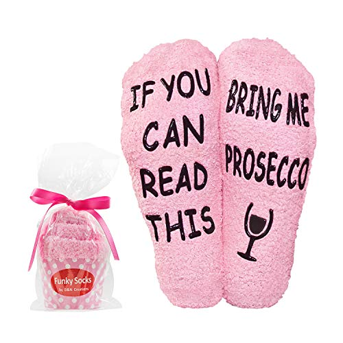 "Prosecco Gifts For Mum Women Funny - ""If You Can Read..."