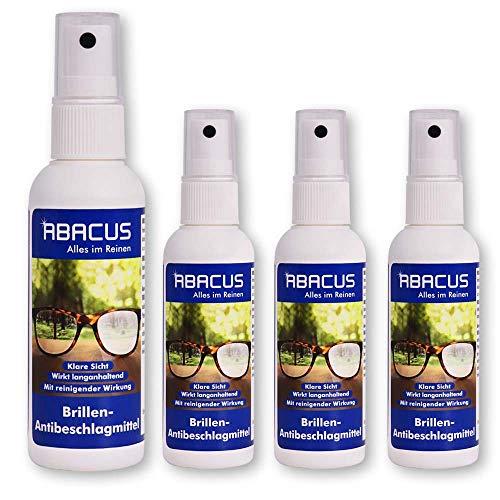 ABACUS 4X 75 ml Brillen-Antibeschlagmittel (7655.4)