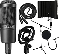 Ideal for project/home-studio applications High SPL handling and wide dynamic range provide unmatched versatility Large diaphragm for smooth, natural sound and low noise Custom shock mount provides superior isolation This portable sound absorbing voc...