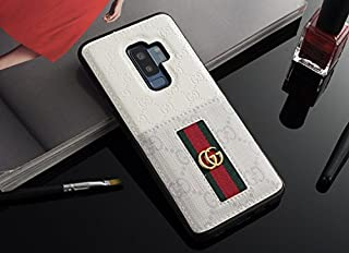 MIGUEL VICENTEE Galaxy S8PLUS -US Fast Deliver Guarantee FBA- Luxury PU Leather Card Slot Style Case Cover for Samsung Galaxy S8 Plus / S8+ Only (White)