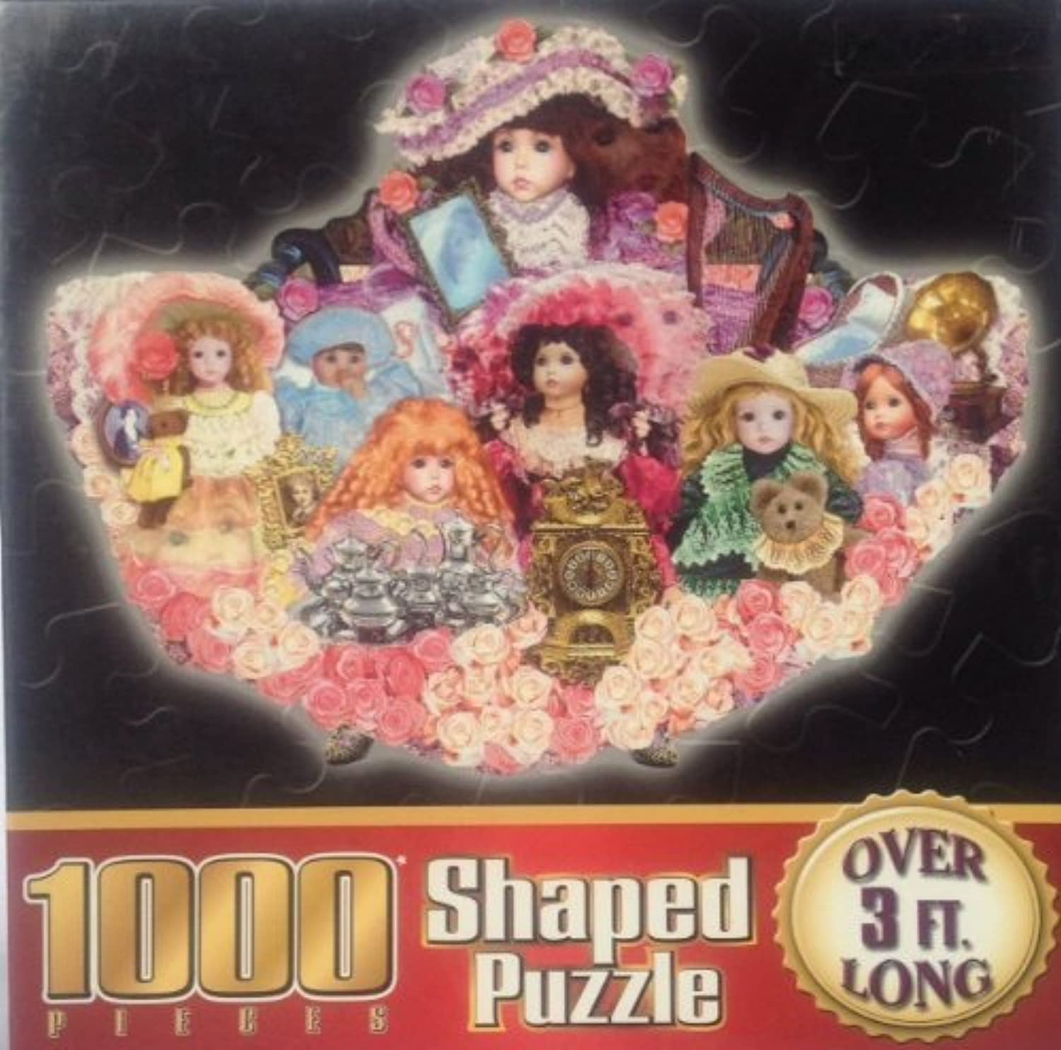 1000 Piece Shaped Puzzle  What a Doll [36.25'' x 28'']