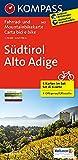 Südtirol - Alto Adige: Fahrrad- und Mountainbikekarte. GPS-genau. 1:70000 (KOMPASS-Fahrradkarten International, Band 3401)