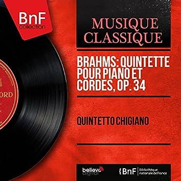 Brahms: Quintette pour piano et cordes, Op. 34 (Mono Version)