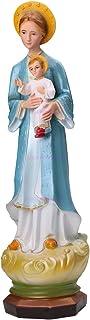 PYCONG تمثال مريم العذراء، المباركة مادونا سانت ماري الشكل الكاثوليكي كريستيان زخرفية
