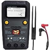 BSIDE ESR02 PRO Digital Transistor Tester SMD Components Meter Mega328 NPN/PNP Diode Triode Capacitor Inductance ESR Checker with Tweezers