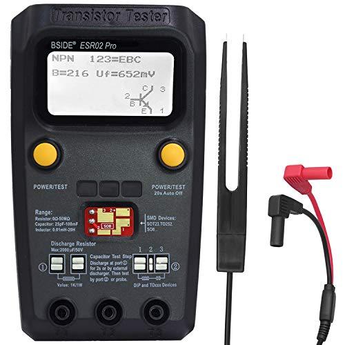 BSIDE ESR02 PRO Digital Transistor Tester