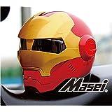 ジェット ヘルメット ロボヘル610 Automic Man レッド/ゴールドL Masei(マセイ) MA-610-RG-L