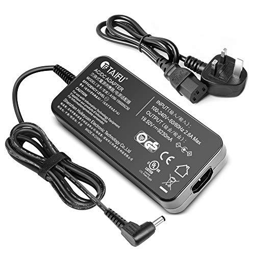 TAIFU 19,5 V 180 W Laptop Adapter Ladegerät für Asus ROG G55 G55VW G46VW G70 A53 A53S FX502VM G75 G75VW G75VX GL502VM GL502VT GL502V GL502 G-Serie Gaming Laptop ADP-180HB D ADP-180MB F FA180PM111