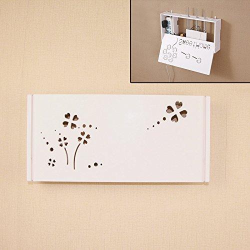DSZQ WiFi router planken/tv-set-topboxen Magic Storage rek Decoratie Box inlayer muur hanging rek Creative Storage Box