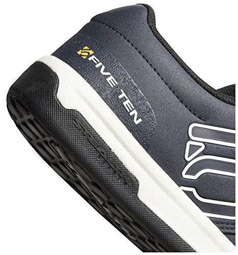 Five Ten Freerider Pro Mens Mountain Bike Shoes, (Night Navy, Cloud White, Collegiate Gold), Size 12.5