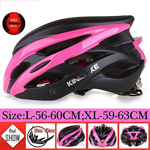 Makvio 2019 nuevo MTB carretera casco Bicicletas mujeres hombres integralmente moldeado ultraligero casco Ciclismo Cascos luz capacete ciclismo