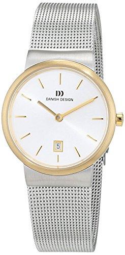 Danish Design Damen Analog Quarz Uhr mit Edelstahl Armband 3324579