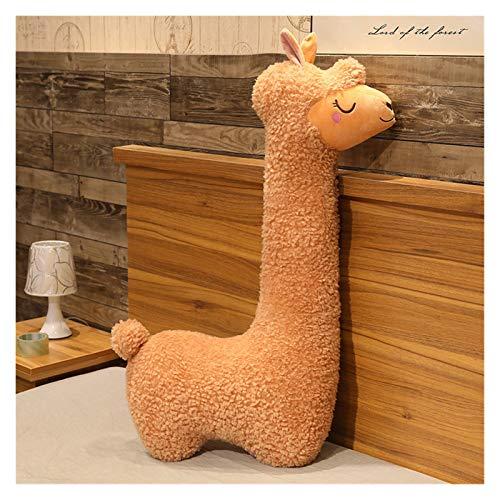 CHENPINBH Plüschtiere Plüsch Spielzeug Gefüllte Tiere Puppe Kissen Kissen Bolster Kinder Kinder Mädchen Geburtstagsgeschenk Wohnkultur (Color : B, Height : 100cm)