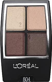 L'Oreal Paris Wear Infinite Eye Shadow Quad, Autumn Leaves, 0.16 Ounce
