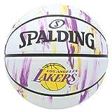 SPALDING(スポルディング) バスケットボール 7号 屋外用 ラバー レイカーズ マーブル NBA公認 83-933J 83-933J