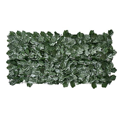 basisago Cloture de Jardin Grillage Cloture Haie Artificielle Décorative Pliable Clôture,Protection Contre Les Rayons UV Protection pour Plantes Anti-Rouille