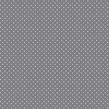 babrause® Baumwollstoff Pünktchen Grau Webware Meterware