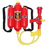 Pistola de agua de bombero con depósito en mochila Brigamo 468