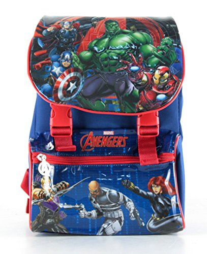BACKPACK MARVEL AVENGERS DELUXE SCHOOL 2016 CM 29X20X12