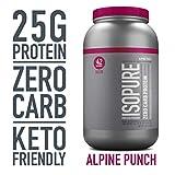Isopure Zero Carb, Keto Friendly Protein Powder, 100% Whey Protein...