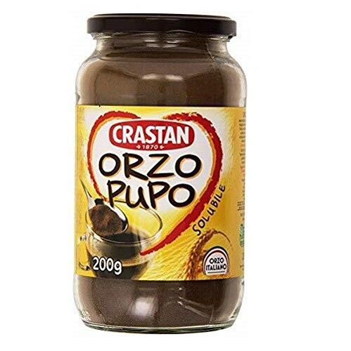 Crastan Orzo Pupo italien Instant lösliche Gerste Getreidekaffee Kaffee 200 Gr