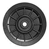 RENCALO 105mm Nylon Bearing Polea Rueda Cable Accesorios de reemplazo de Equipos de Fitness