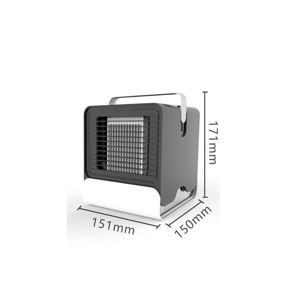 JYSD Portátil Mini Aire Acondicionado Ventilador Mudo refrigerador ...