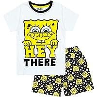 Breve Pijamas de algodón Combinado de Bob Esponja Boy