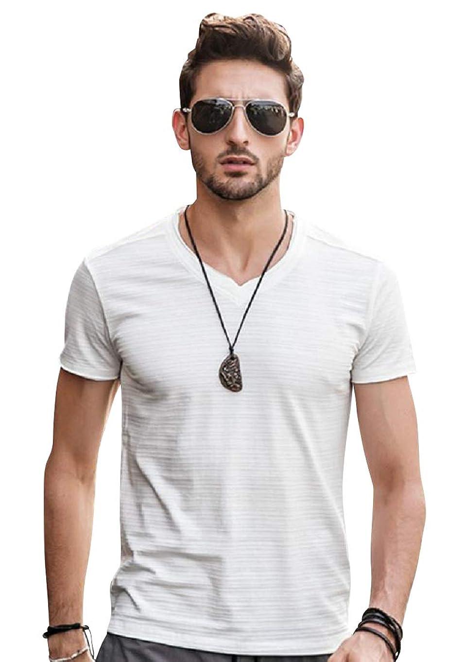 旅行者均等に警戒[ライズオンフリーク] メンズ 半袖 tシャツ トップス カットソー シャツ カジュアル 夏服 GT-47