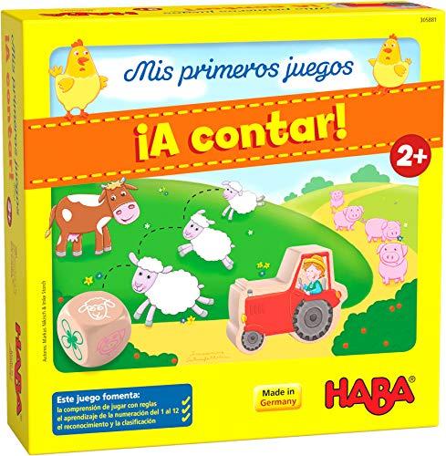 HABA305881 - Mis Primeros Juegos ¡A Contar!, Juego cooperativo a Partir de 2 años