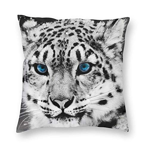 Harla Home White Tiger Bed Pillows Sleep Pillow Covers Sleeper Living Room Sofa Car Cushion cover Case