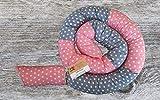 Bettschlange, Rosa/Grau mit Sternen, 180cm bis 300cm wählbar, Handmade, ÖKO-TEX Standard 100 zertifizierte Materialien, 100% Made in Germany