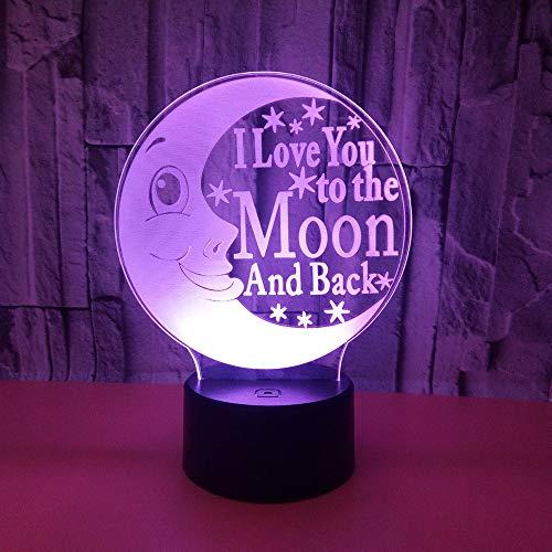 Creative Toys Beleuchtung Tischlampe Großhandel Tischlampen für Wohnzimmer Deco Enfant Chambre 3D Nachtlicht