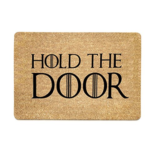 Freahap Felpudo Diseño Hold The Door Doormat 40 *
