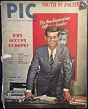 Pic: The Magazine for Young Men, vol. 18, no. 11 (November 1946): Youth in Politics (John F. Kennedy cover), Why Occupy Europe?, Carmen Miranda, Dorothy Lamour, Rita Hayworth, Xavier Cugat